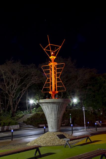 東京タワーのアンテナの記念碑「333mの記憶」