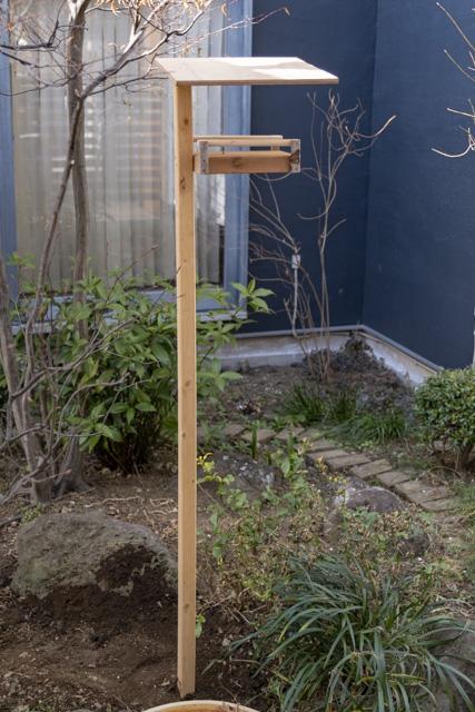 バードフィーダー(鳥の餌台)完成