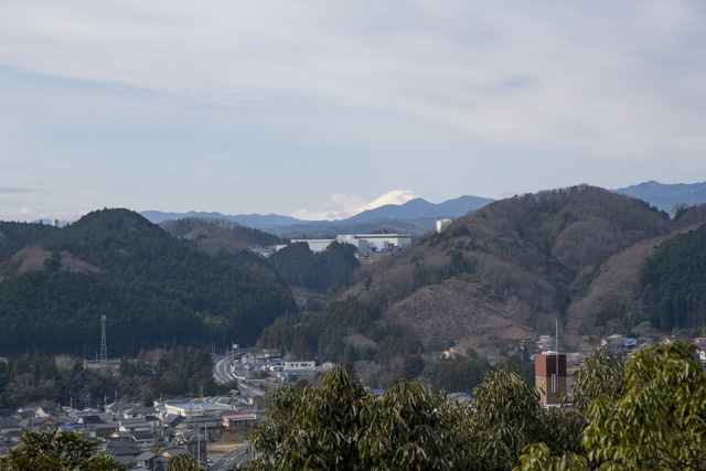 飯能・天覧山からの眺め