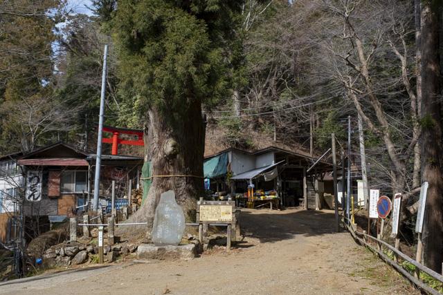 子ノ権現天龍寺の入口