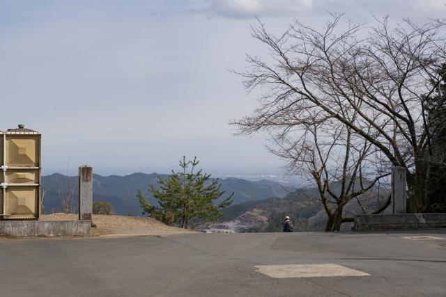 子ノ権現の駐車場からの眺め
