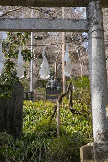 秩父御嶽神社・東郷公園の東郷元帥像