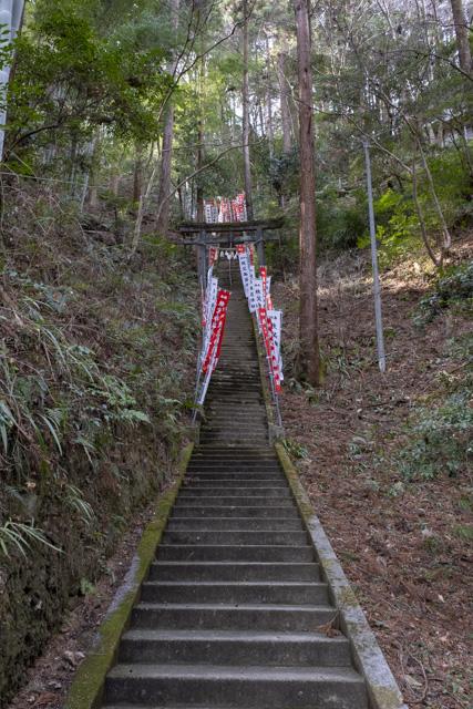 秩父御嶽神社・東郷公園の凶悪階段