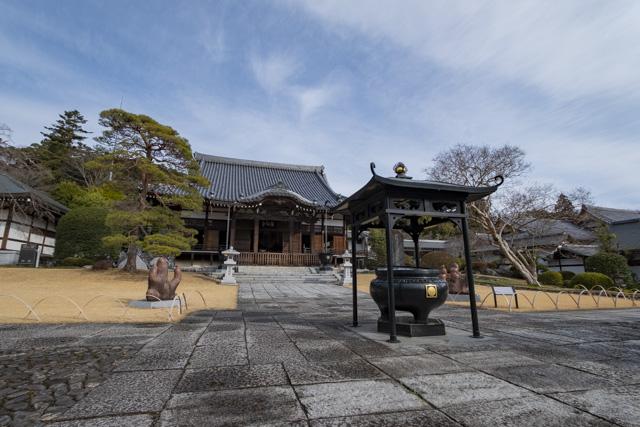 能仁寺の本堂