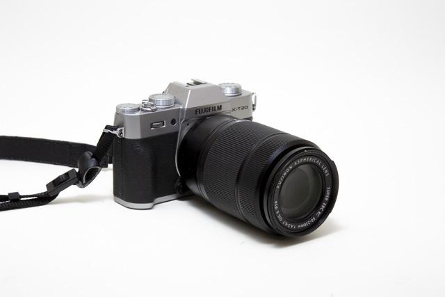 XT20に装着したXC50-230mmF4.5-6.7