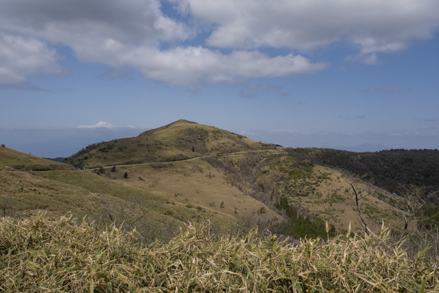 西伊豆スカイラインと達磨山