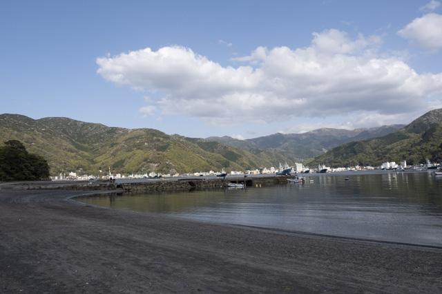 戸田の砂浜