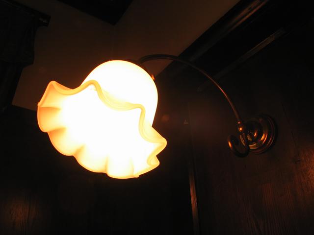 横浜山手西洋館・外交官の家・ブラケットライト