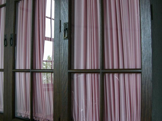 横浜山手西洋館・外交官の家・窓とカーテン