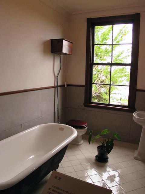 横浜山手西洋館・外交官の家・バスルーム