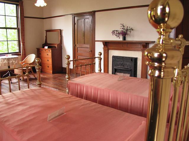 横浜山手西洋館・外交官の家・寝室