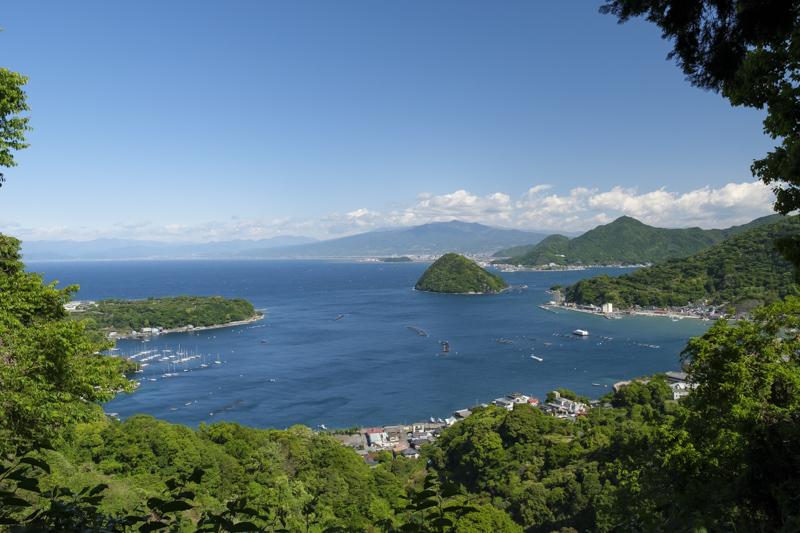 内浦重須見晴台からの絶景