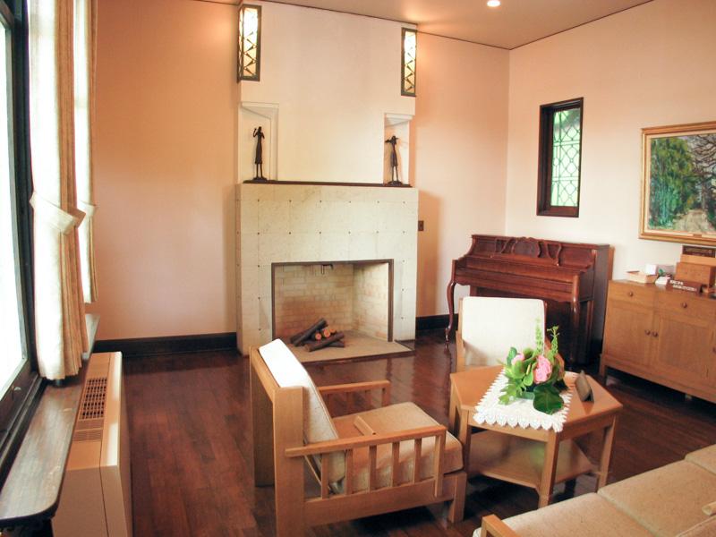 エリスマン邸の応接室