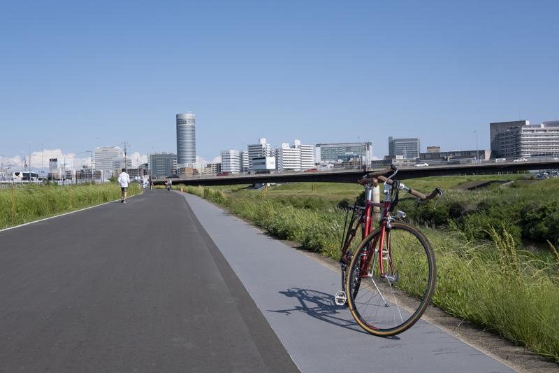 鶴見川サイクリングコース・舗装化された区間