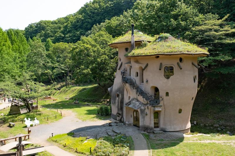あけぼの子どもの森公園・きのこの家