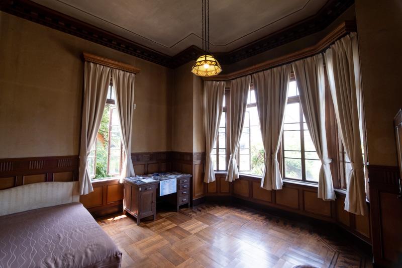 旧石川組製糸西洋館の客室