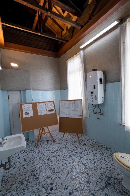 旧石川組製糸西洋館のバスルーム