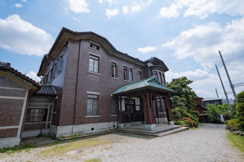 旧石川組製糸西洋館の外観