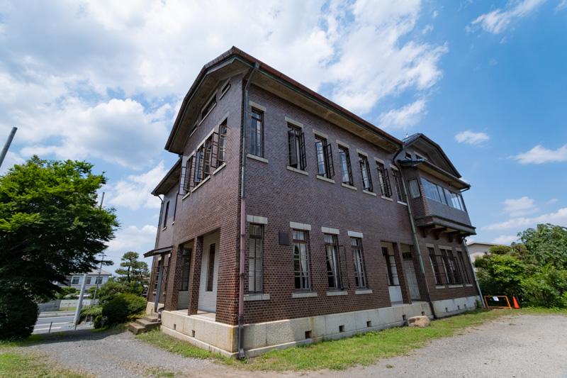 旧石川組製糸西洋館の裏側の外観
