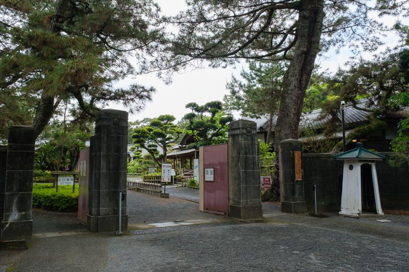 沼津御用邸の入口