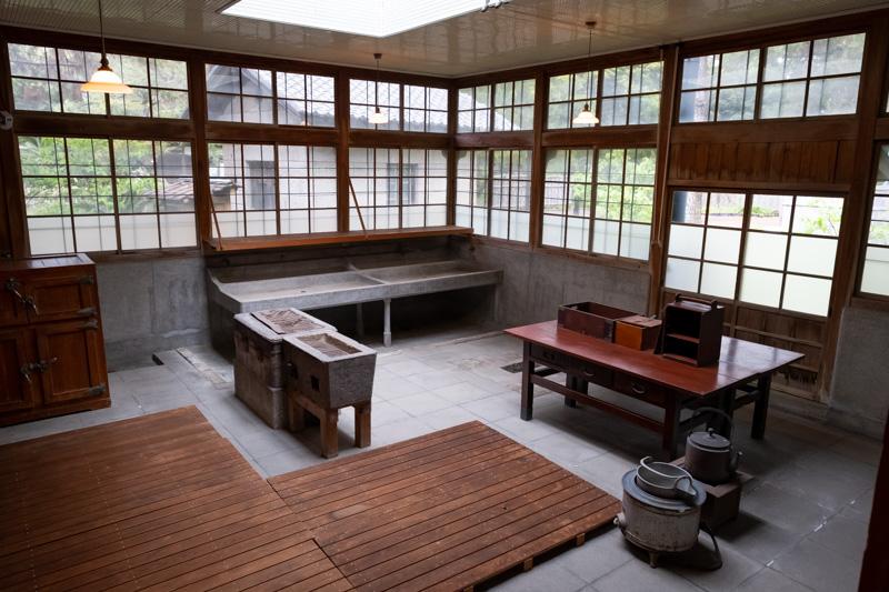 沼津御用邸・西附属邸の調理室