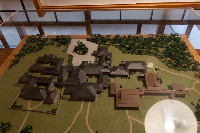 沼津御用邸の模型