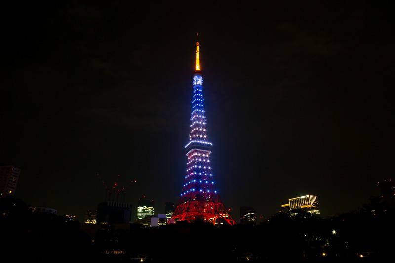青い東京タワー 7月海色のインフィニティ・ヴェール