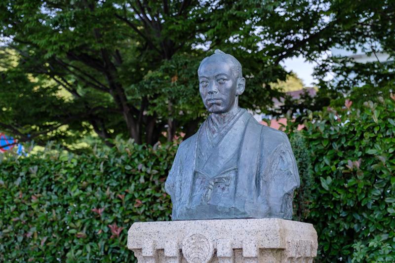小栗上野介(忠順)の銅像