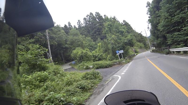 林道 根際線の入口