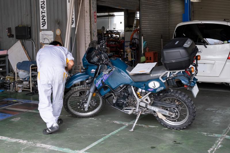 ホリデーバイク車検