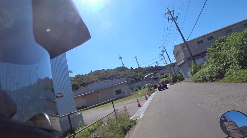 志田峠砂利道〜国道412号線分岐