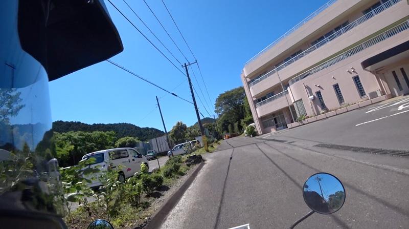 志田峠の砂利道〜志田山ホーム