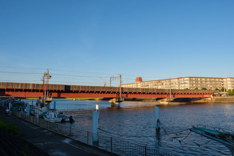 JR鶴見線 鶴見川橋梁