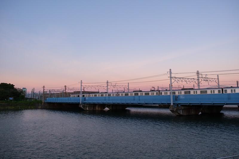 鶴見川・JR横須賀線橋梁