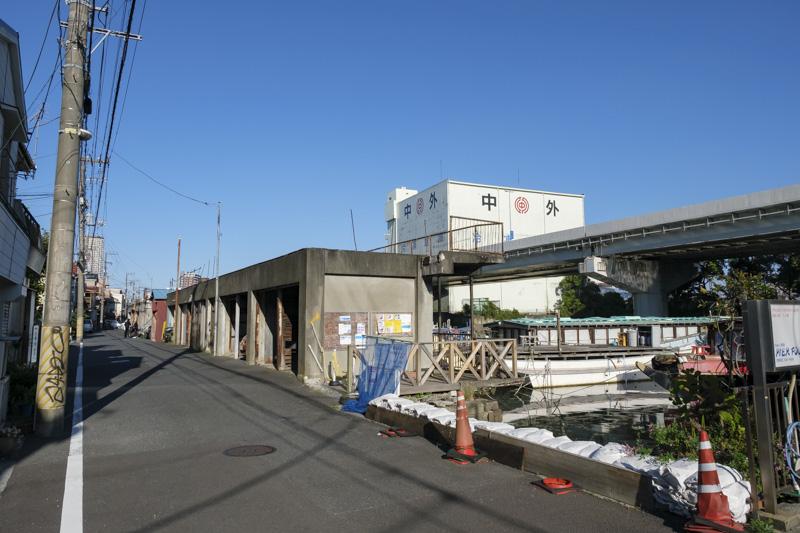 子安浜(子安漁港)・浜通り