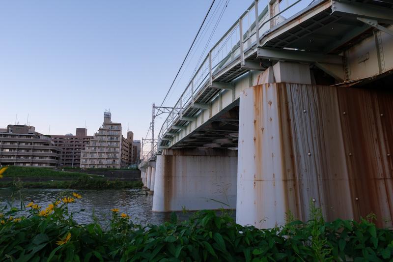 東急東横線鶴見川橋梁