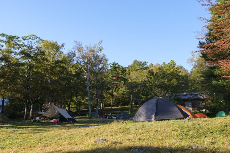 駒出池キャンプ場・フリーサイト