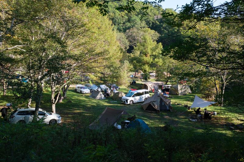 駒出池キャンプ場・オートサイト